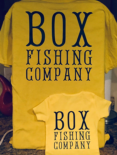 "Personalized ""You're Name"" Fishing Company Toddler Tee"