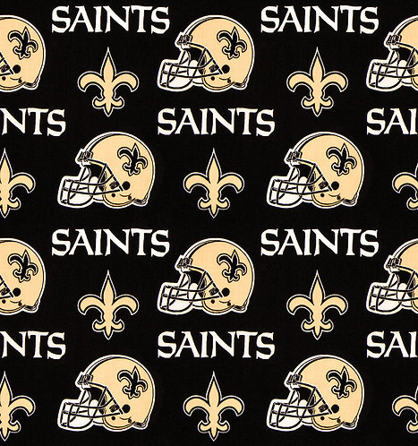 Sports Who Dat Theme Fabric