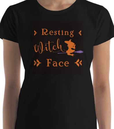 "Women's ""Resting Witch Face"""