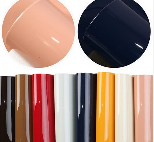 Patent Leather Look Embroidery Vinyl