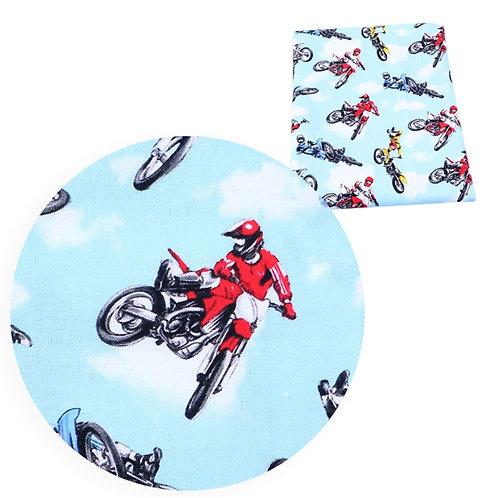 Dirtbikes Fabric