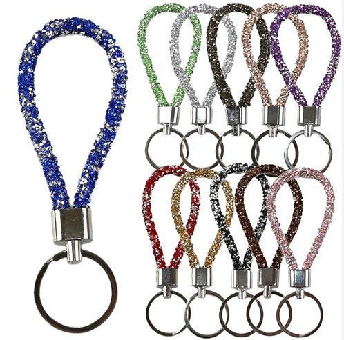 Crystal Rhinestone Keychains Pack