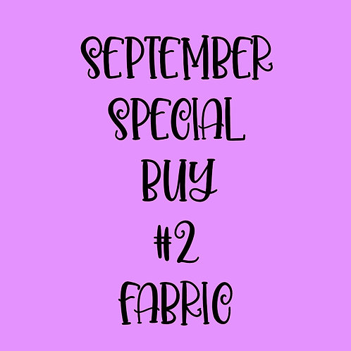 September Special Buy #2 Fabric