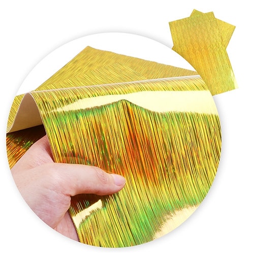 Laser Look Yellow Embroidery Vinyl