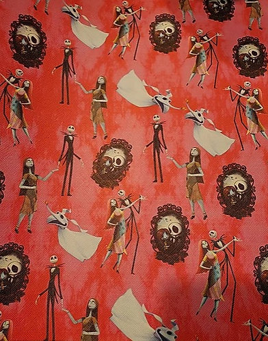 J&S Dancing Skeletons Fabric