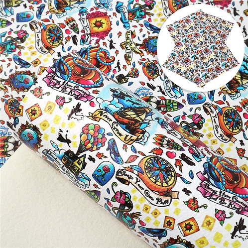 Mouse Movies Fabric