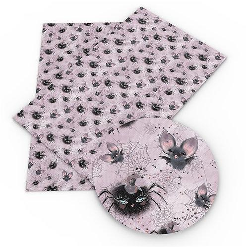 Halloween Spiders Fabric