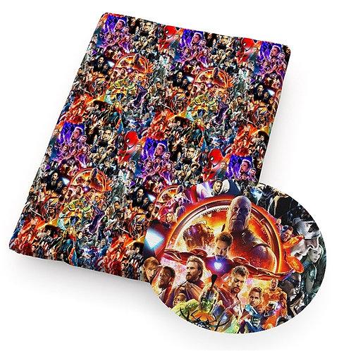 Marvel Mashup Fabric