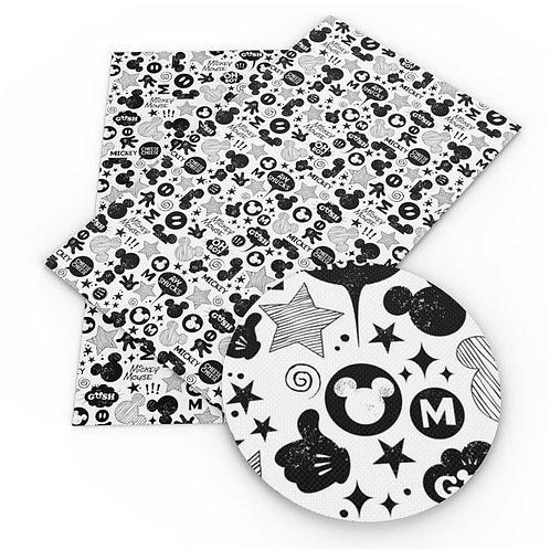 Mouse Black and White Vinyl
