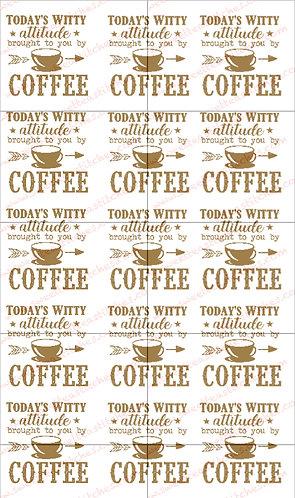 Coffee Attitude Vinyl