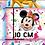 Thumbnail: Mouse Celebration Blocks Fabric