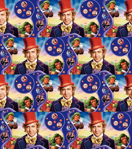 Wonky Chocolate Factory Fabric