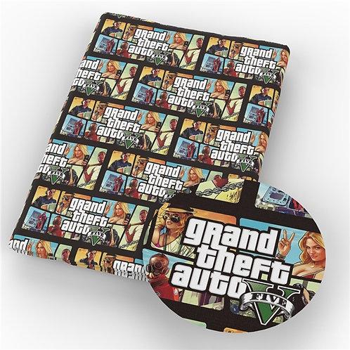 GTA Gamer Fabric