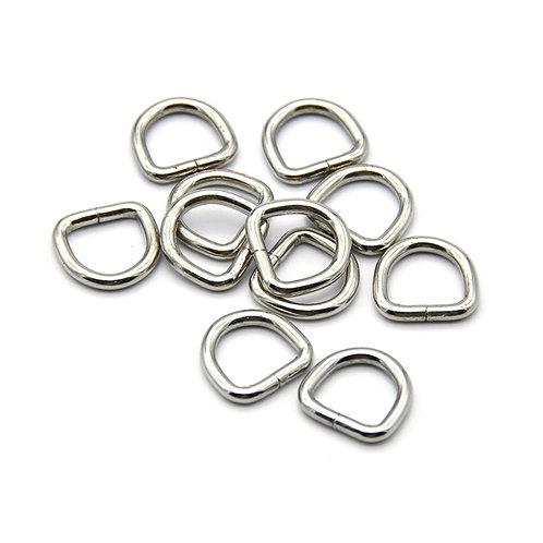 """D-Rings, .5"""""""