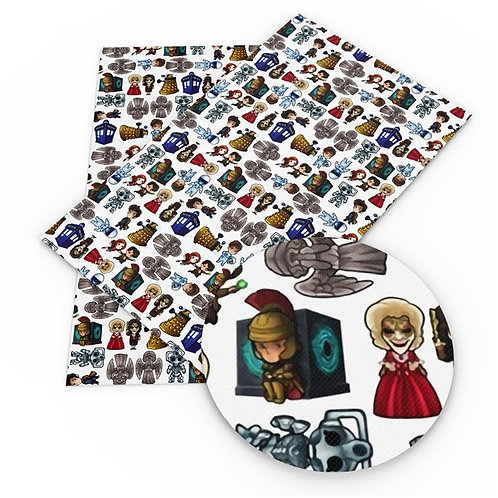 Doctor Who Essentials Fabric
