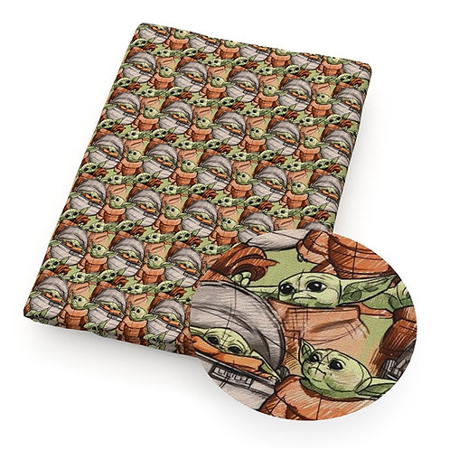 Green Guy Capsule Fabric