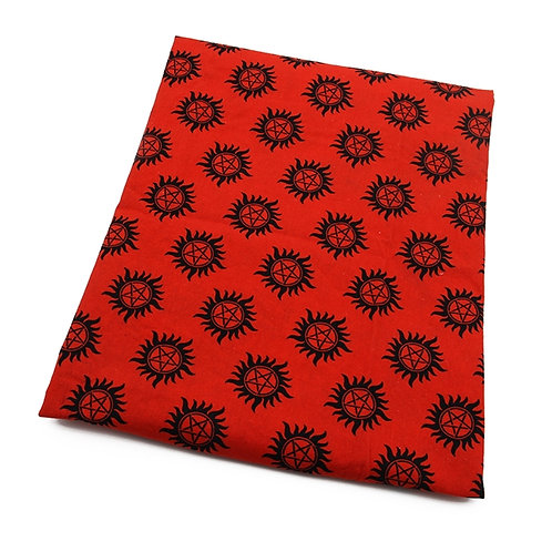 Super Natural Red Fabric
