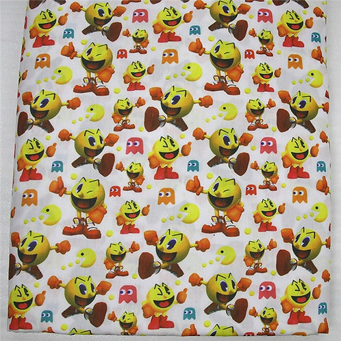 Pac-Man Gone Wild Fabric