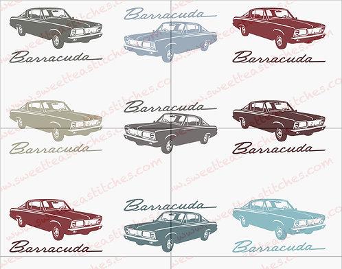 Classic Cars - Barracuda Vinyl