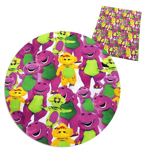 Dinosaur I Love You Fabric