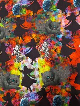 Alice Silhouette Fabric