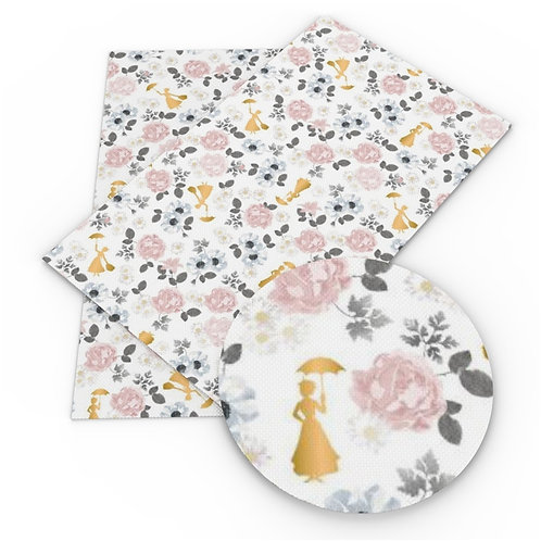 Mary Poppins Inspired Fabric