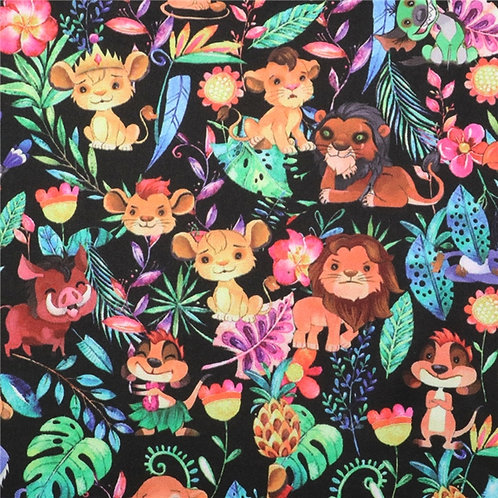 Lions and Friends Fabric