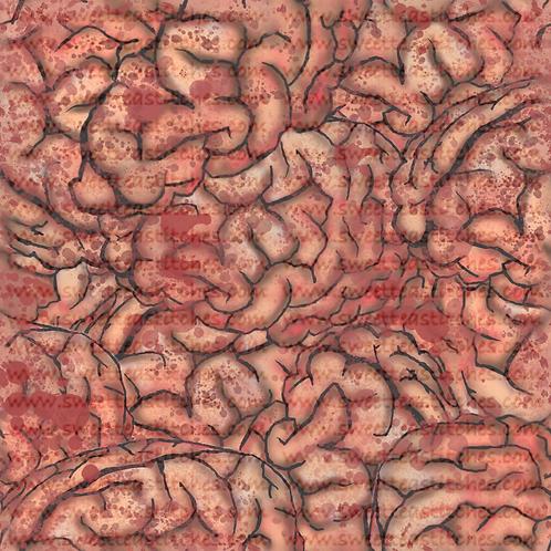 Brains Fabric