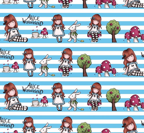 Alice in Stripes Fabric