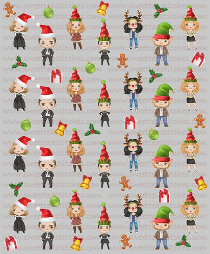 Christmas - Schitts Ho Ho Ho Fabric