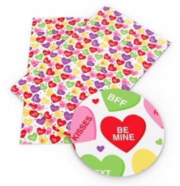 Conversation Heart Sheets