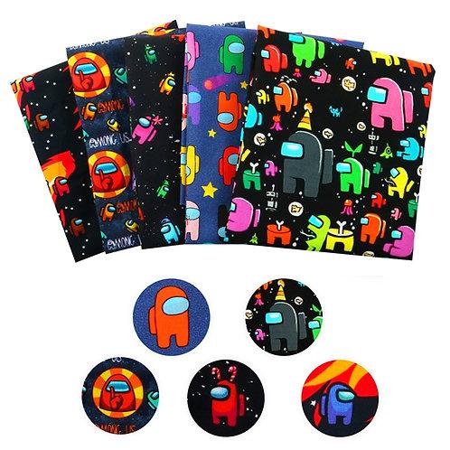 Around Us Fabric Set, 5 piece