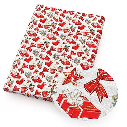 Christmas - Christmas Reds Fabric