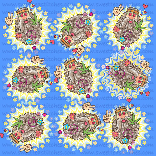 Pot Hippie Fabric