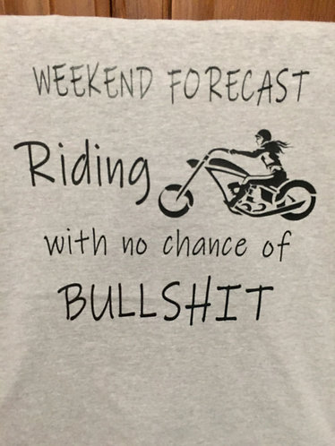 """Weekend Forecast"" Woman's Tee"