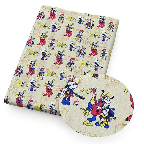 Mouse Wild West Fabric