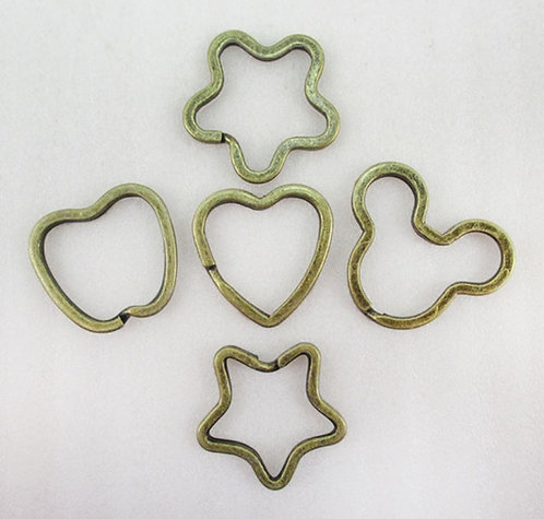 Shaped Key Rings