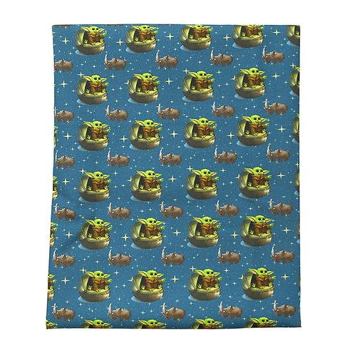 Green Guy and Space Rhino Fabric