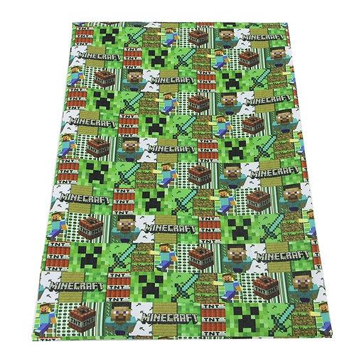 Mining Game TNT Fabric