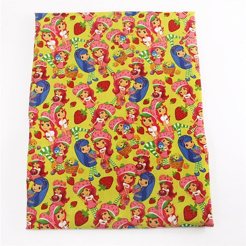 Strawberry and Friends Fabric