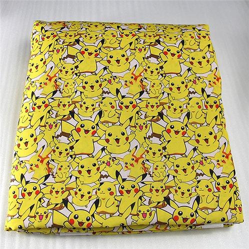 Pikachu Fabric