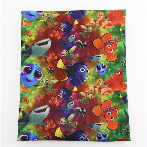 Funny Fish Fabric