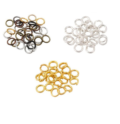 Jump Rings, Assorted Colors, 10mm