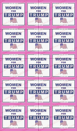 Women for Trump, pink