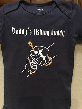 "Personalized ""Fishing Buddies"" Youth Tee"
