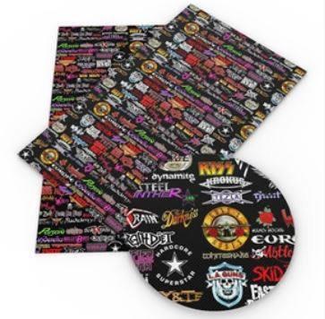 80s Rock Embroidery Vinyl