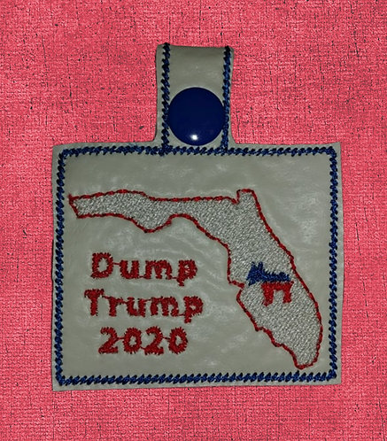 Florida Dump Trump Key Fob