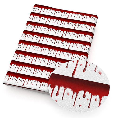 Bloody Drips Fabric