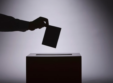 THE ONLY VOTE THAT COUNTS FOR ETERNITY