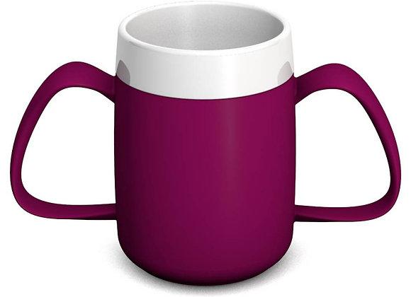 Ornamin Two Handled Mug with Internal Cone - 140ml